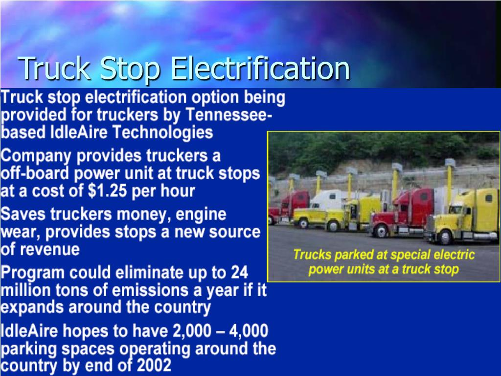 Truck Stop Electrification
