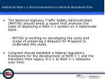 additional ng9 1 1 recommendations in national broadband plan