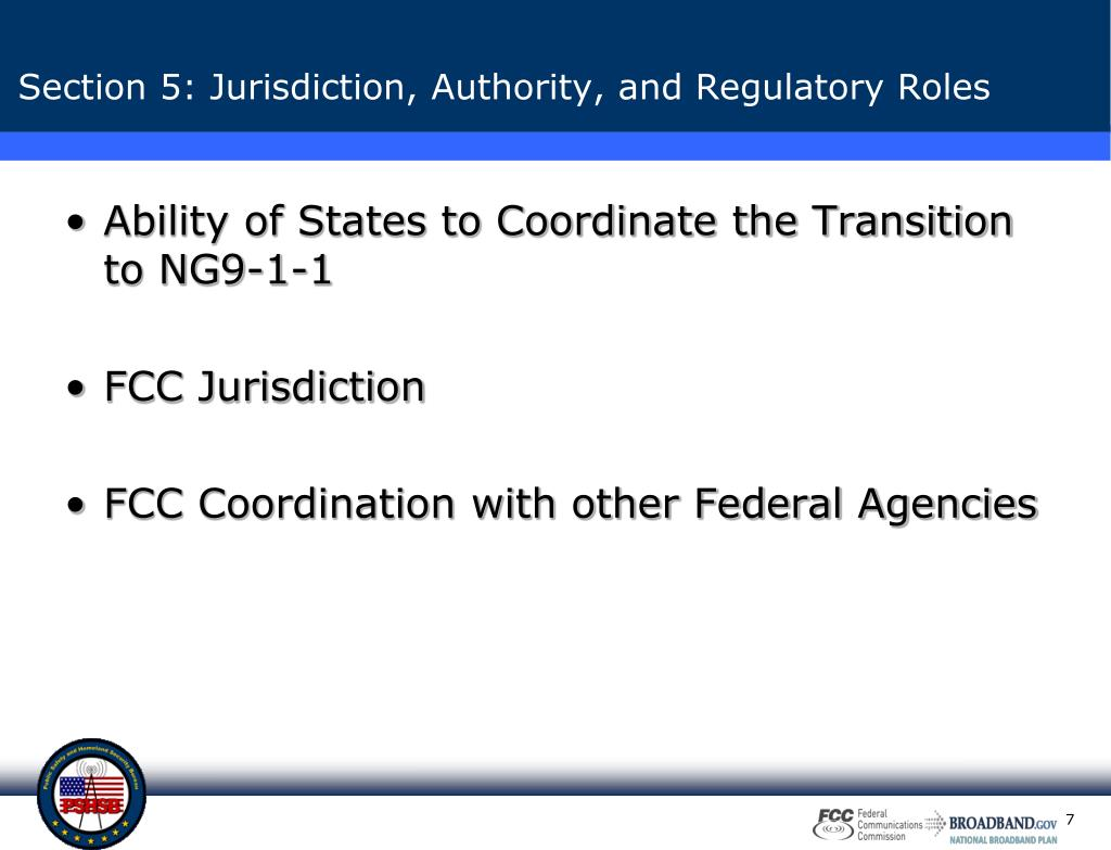 Ability of States to Coordinate the Transition to NG9-1-1
