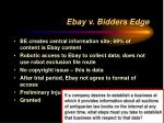ebay v bidders edge