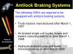 antilock braking systems