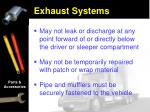 exhaust systems17
