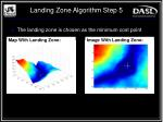 landing zone algorithm step 5