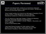 papers reviewed