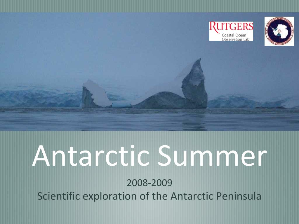 antarctic summer l.