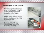 advantages of the du ha