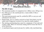 marathon rules17