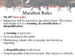 marathon rules24