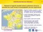 distributed service delivery