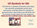 us symbols for 200