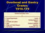overhead and gantry cranes 1910 179