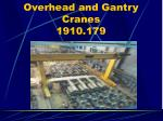 overhead and gantry cranes 1910 17959