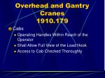 overhead and gantry cranes 1910 17963