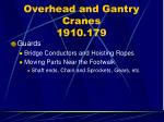overhead and gantry cranes 1910 17969