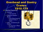 overhead and gantry cranes 1910 17970