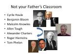 not your father s classroom