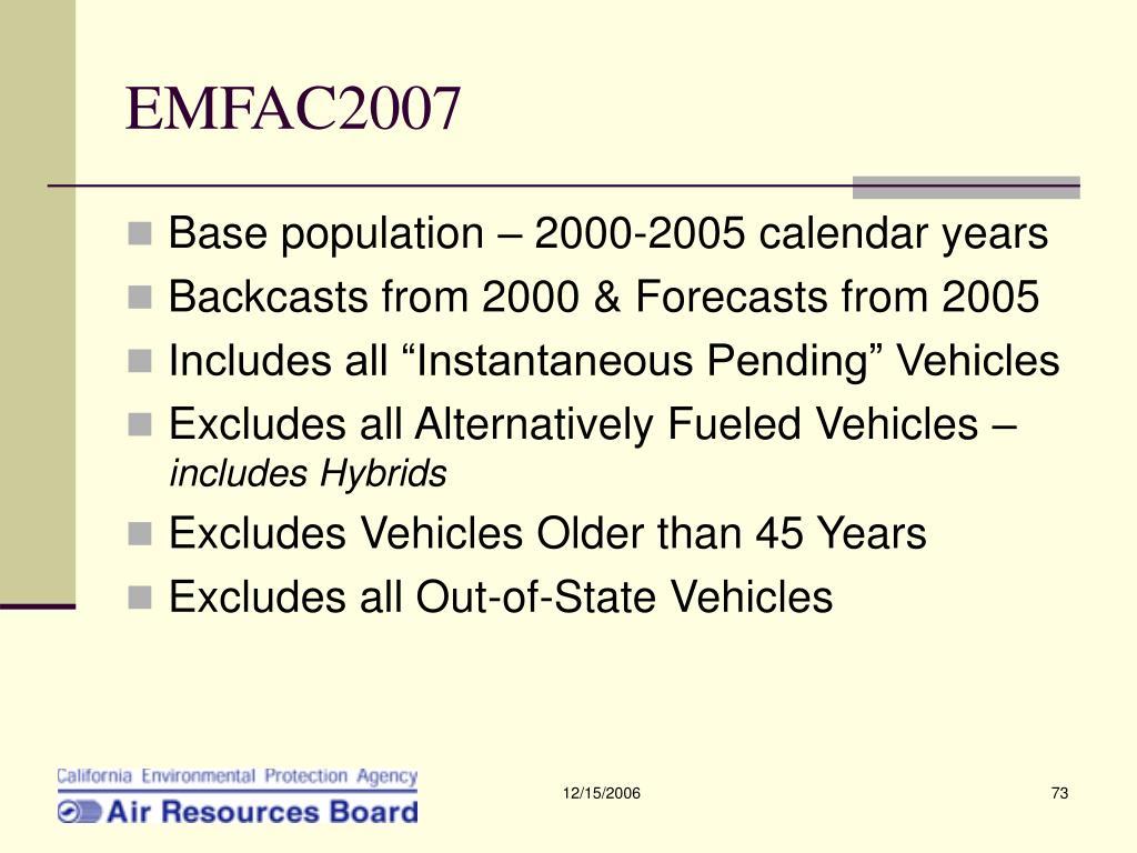 EMFAC2007