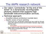 the aapn research network
