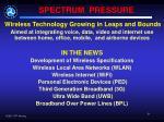 spectrum pressure