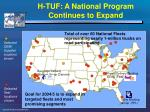 h tuf a national program continues to expand