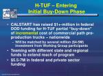 h tuf entering initial buy down phase