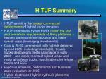 h tuf summary