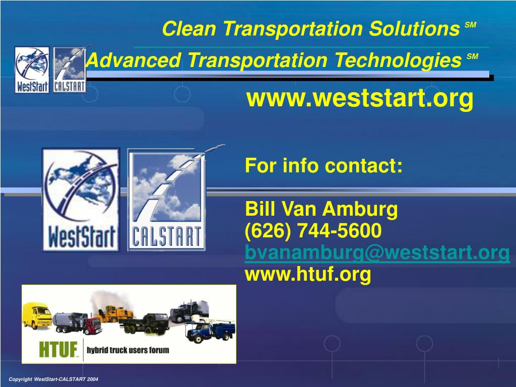 Clean Transportation Solutions
