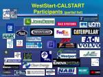 weststart calstart participants partial list