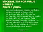 encefalitis por virus herpes simple vhs44