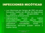 infecciones mic ticas