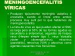 meningoencefalitis v ricas