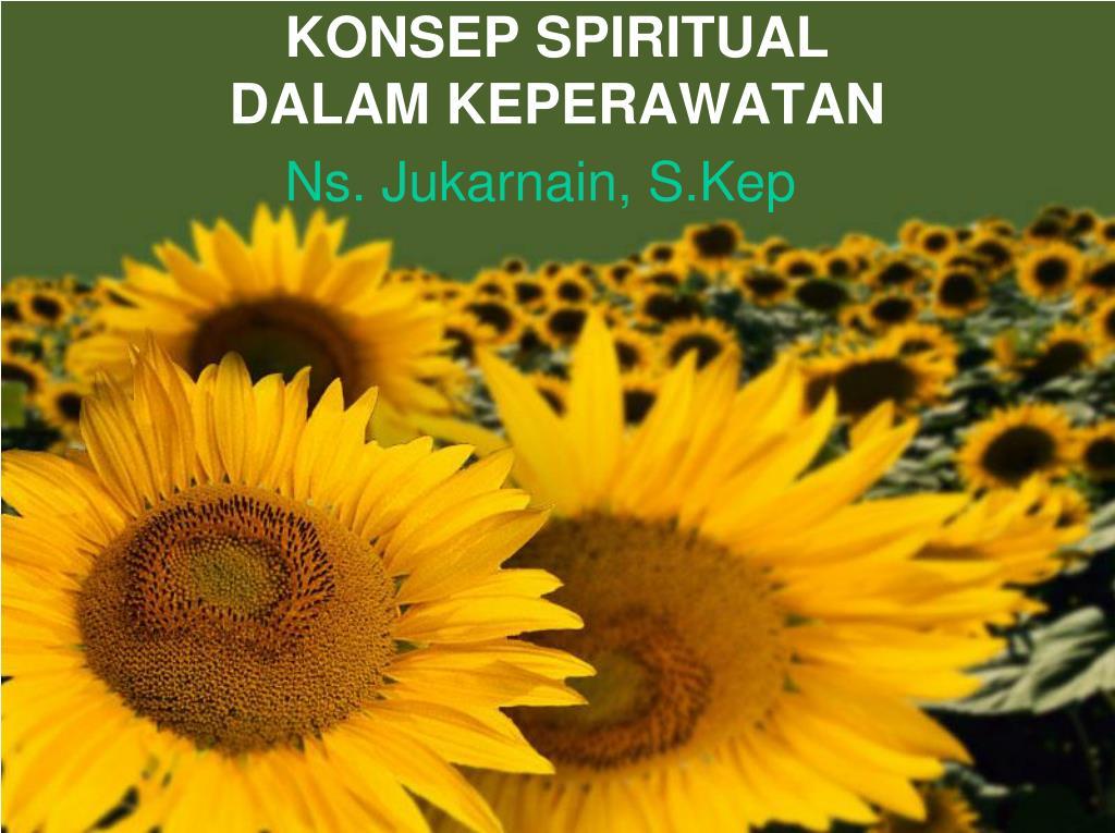 konsep spiritual dalam keperawatan l.