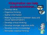 kidspiration can help students children