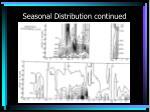 seasonal distribution continued16