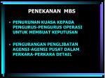penekanan mbs