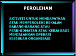 perolehan