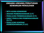 undang undang peraturan kewangan perolehan