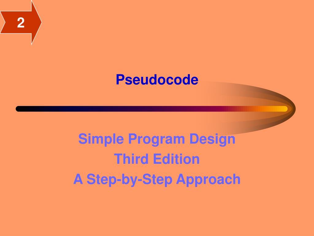 pseudocode l.