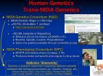 human genetics trans nida genetics
