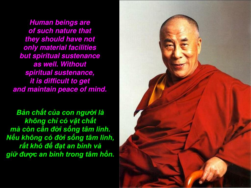 Human beings are