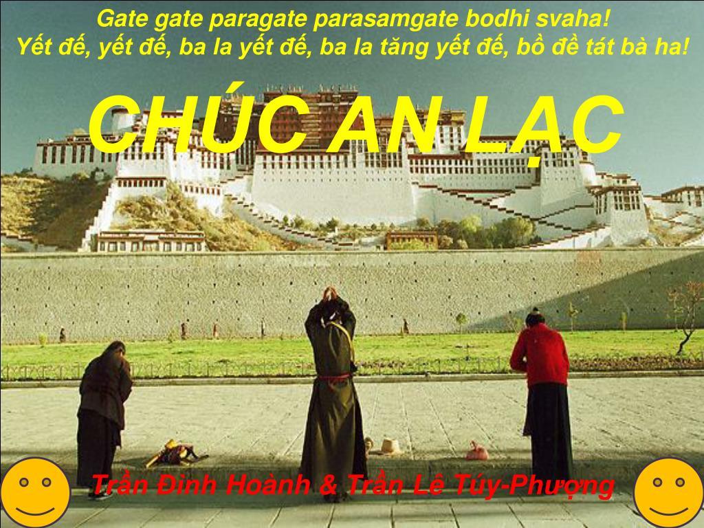 Gate gate paragate parasamgate bodhi svaha!
