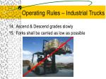 operating rules industrial trucks11