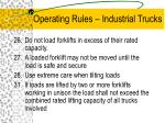 operating rules industrial trucks15