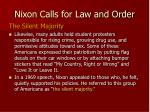 nixon calls for law and order8