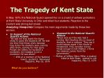 the tragedy of kent state