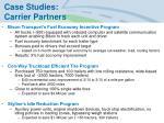 case studies carrier partners
