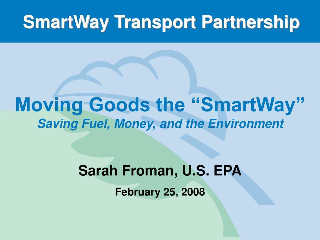 smartway transport partnership l.