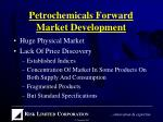 petrochemicals forward market development