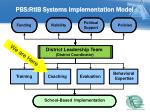 pbs rtib systems implementation model