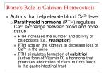 bone s role in calcium homeostasis49